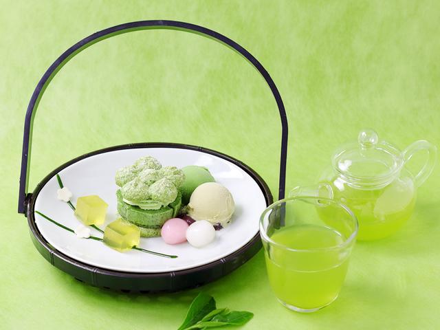 画像2: 宇治新茶を楽しむ!茶寮都路里の季節限定メニュー