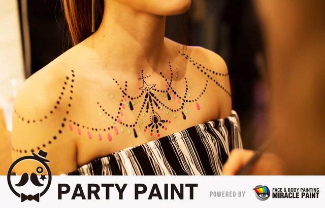 画像5: イベント会場を盛り上げるドレスコードとして、はがして帰れるフェイスペイントが大活躍!