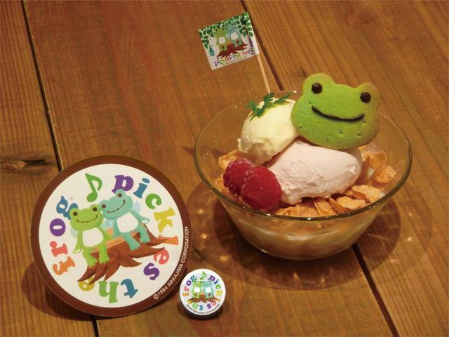 画像2: 人気カフェがピクルス色に染まる!かわいいケーキも登場