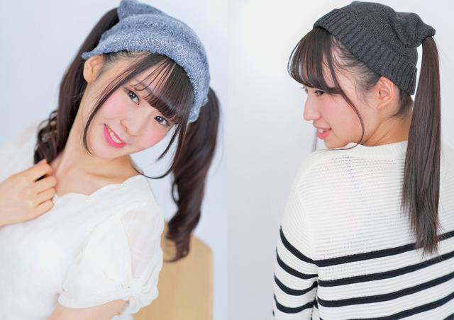 画像3: 日本初登場のツインテールのままかぶれるニット帽「ツインテールキャップ」ついにモデルオーディション開催決定!