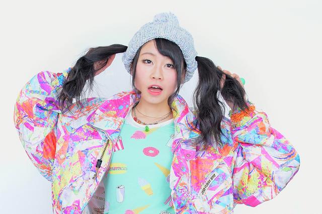 画像4: 日本初登場のツインテールのままかぶれるニット帽「ツインテールキャップ」ついにモデルオーディション開催決定!