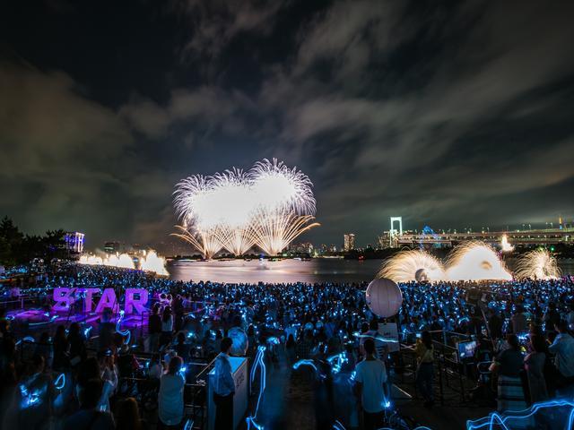 画像5: 世界初の究極の未来型花火エンターテインメント「STAR ISLAND」開催!