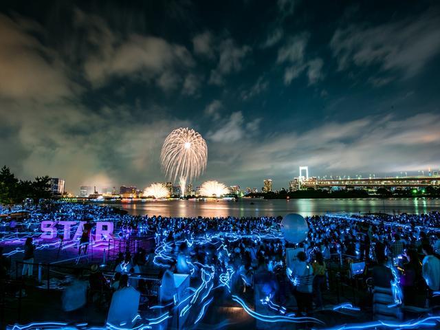 画像8: 世界初の究極の未来型花火エンターテインメント「STAR ISLAND」開催!