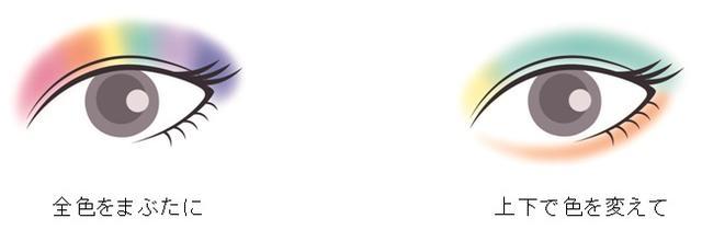 画像3: アレンジ自由自在!夏を楽しむカラフルメイクがつくれる!SNSでも話題のレインボーメイクアイテムが新登場