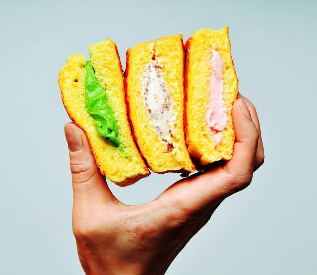 画像: カリッ、ふわ、とろり。新食感のアイスクリームスイーツ