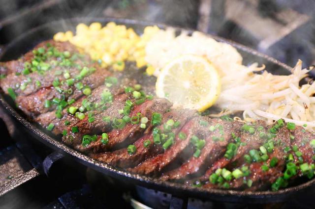 画像: 人気の熟成ハラミステーキ
