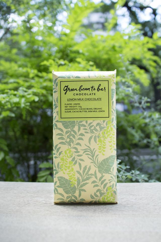 画像1: チョコレートバー レモンミルク 1,600 円(税別)