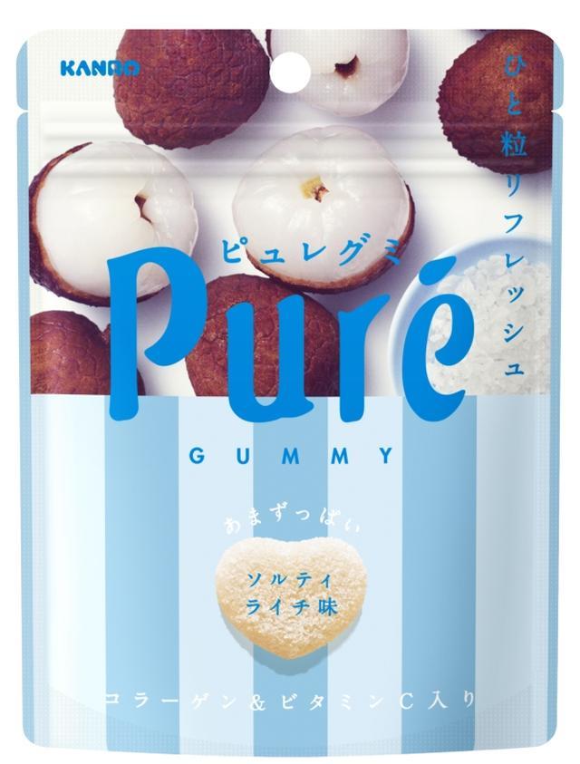 """画像1: この夏の""""ピュレグミ"""" 塩×フルーツでリフレッシュ!"""