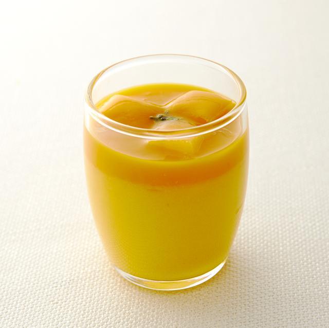 画像: <新作> 「マンゴープリン」    ¥540(¥500) マンゴープリンのうえに、マンゴーソース、マンゴーをカットしてのせた、マンゴー好きにはたまらない1品。すべてフレッシュのマンゴーを使用して丁寧にピューレにするなど、果実の味わいそのものをお楽しみいただけます。