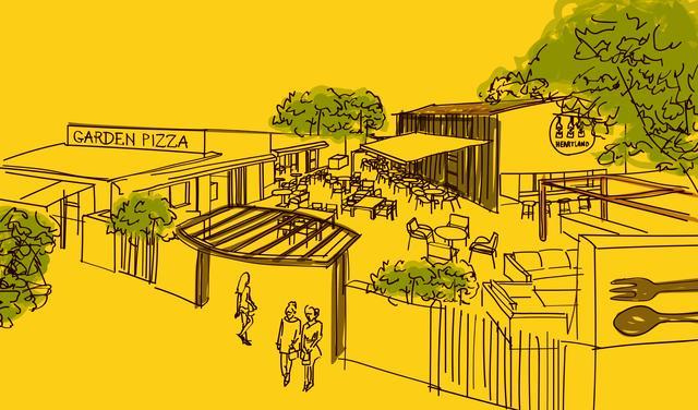 画像: 練馬区豊玉 薪釜で焼く本格PIZZAのお店「UP MARKET PIZZA&CAFE」in トヨタマ ヴィラ