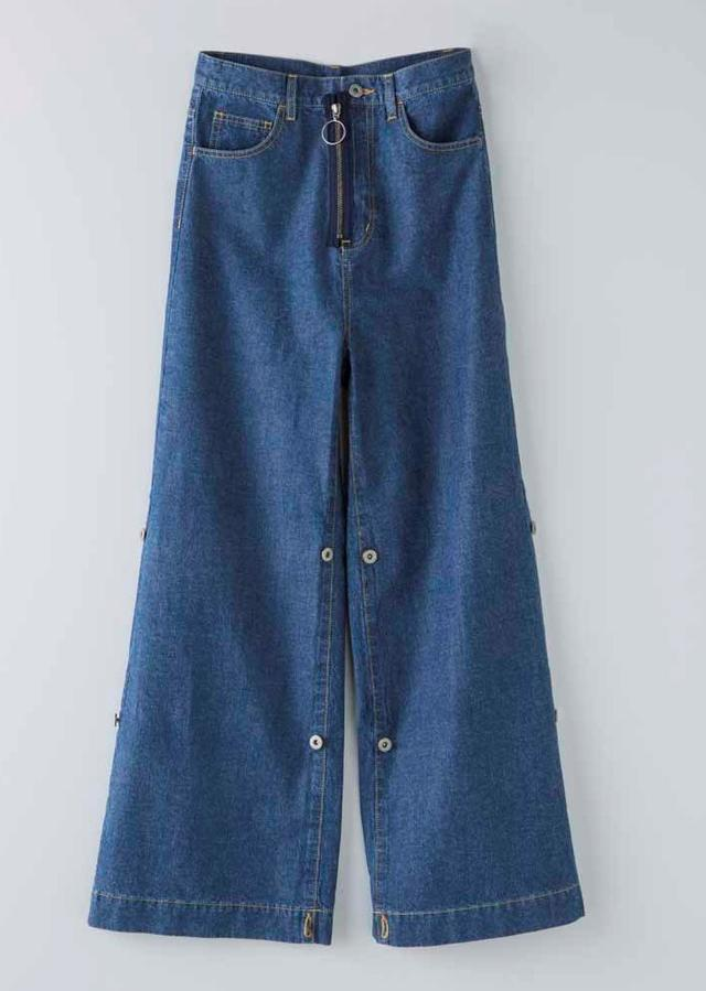 画像2: デニムシャツ 税込16,200円 デニムワイドパンツ 税込12,960円