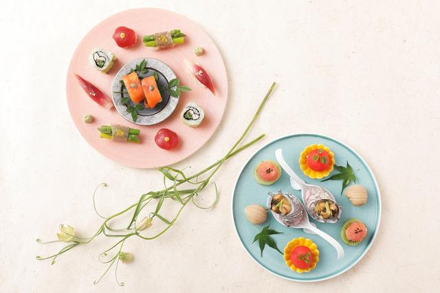 画像2: Japanism Afternoon Tea Style 華凛 夏~Temarisushi~