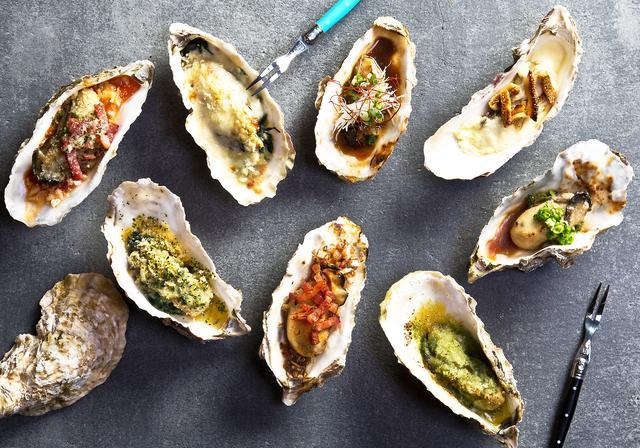 画像: 見た目も美しい「ロックフェラー」「カークパトリック」「キルパトリック」などバラエティに富んだ焼牡蠣