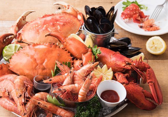 画像: 「本日のSHELL FISH」は日替わり入荷の贅沢な海老や蟹