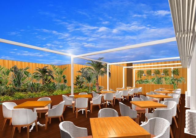 画像2: 「カフェ・カイラ」がディナーも楽しめるダイニングに変身!