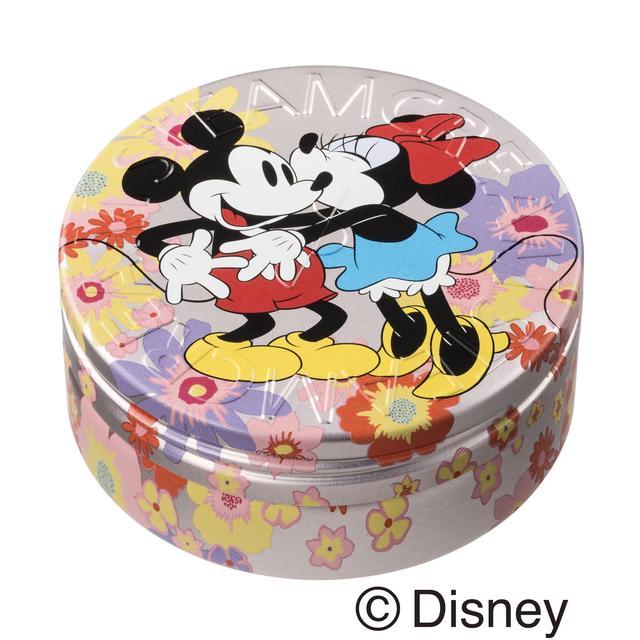 画像1: 全身用保湿クリーム「スチームクリーム」ディズニーデザイン缶に、愛が止まらない永遠のカップル2組が登場!