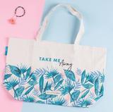 画像: Advice2 >> ちょっとしたお出掛けや旅行には、トートバッグを忘れずに!トロピカルなデザインが夏のウキウキ気分を演出♪