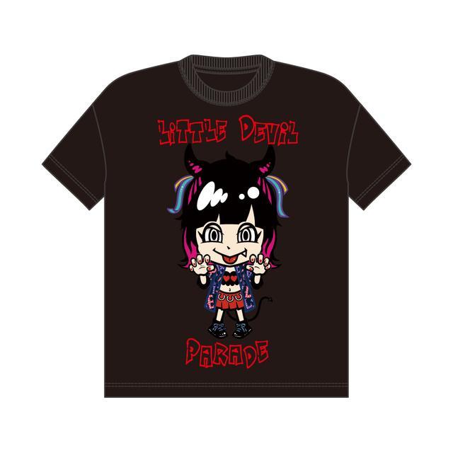 画像1: LiSA×SPINNSコラボアイテム・キャラクタービッグTシャツVV限定カラー price:3,599円(税別)