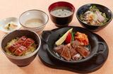 画像: ごちそう三昧御膳[国産牛焼き肉・うなぎ蒲焼き・黒豚冷しゃぶ] 1,599円