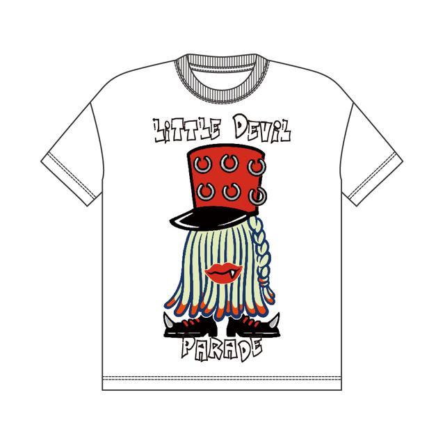 画像2: LiSA×SPINNSコラボアイテム・キャラクタービッグTシャツVV限定カラー price:3,599円(税別)