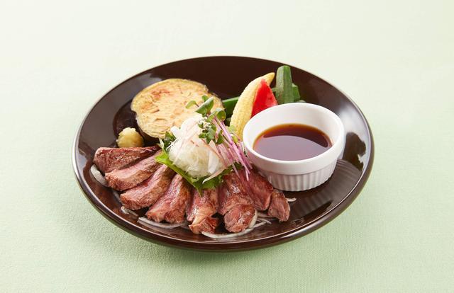 画像: サーロインステーキ 薬味たっぷりおろしぽん酢 1,499円