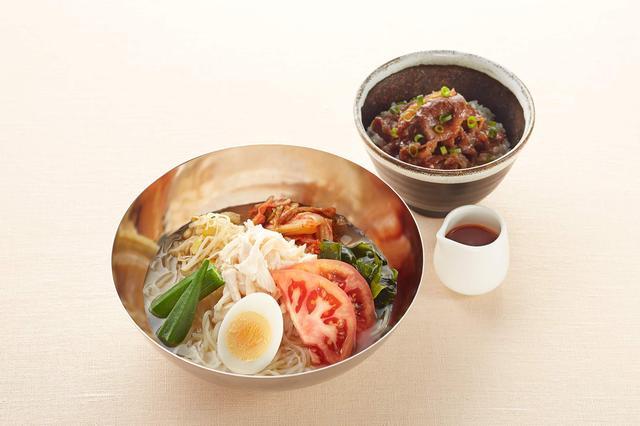 画像: 本格!盛岡冷麺&焼肉丼付き 1,169円