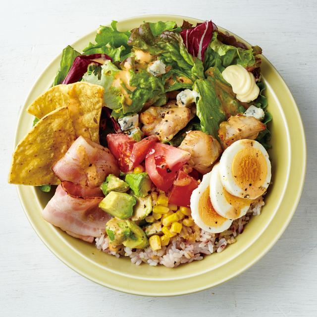 画像: 「サラダライス ニューヨークコブ」スープ付き 税込 1,058円