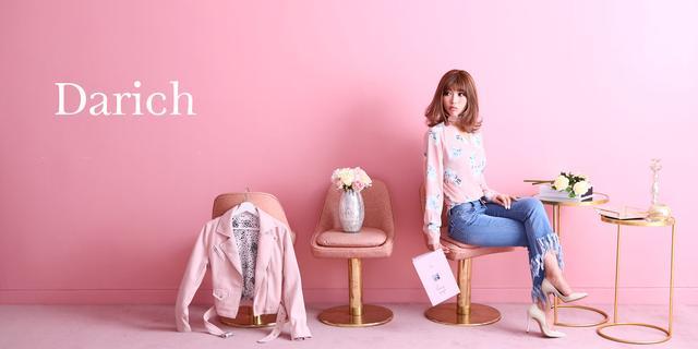 """画像: """"大人のピンク""""をテーマにInstagramで人気の齊藤早紀が自身で手がける、ピンクからコーディネートを提案する新ブランド『Darich』を発表"""