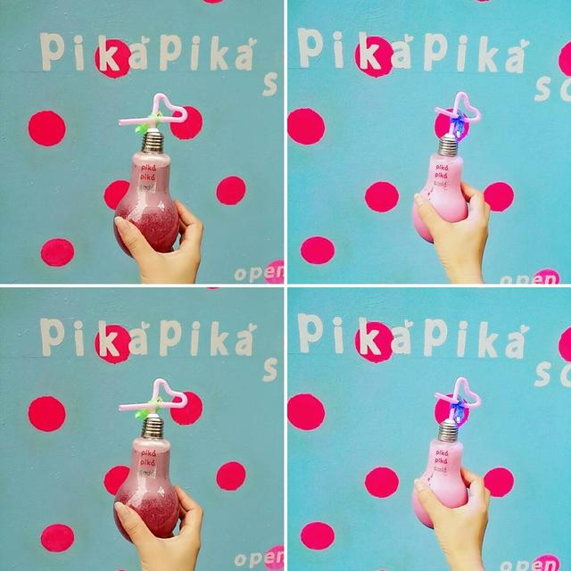 画像2: 行かねば!フォトジェニックな電球型ソーダ「Pika Pika Soda」が渋谷に登場!