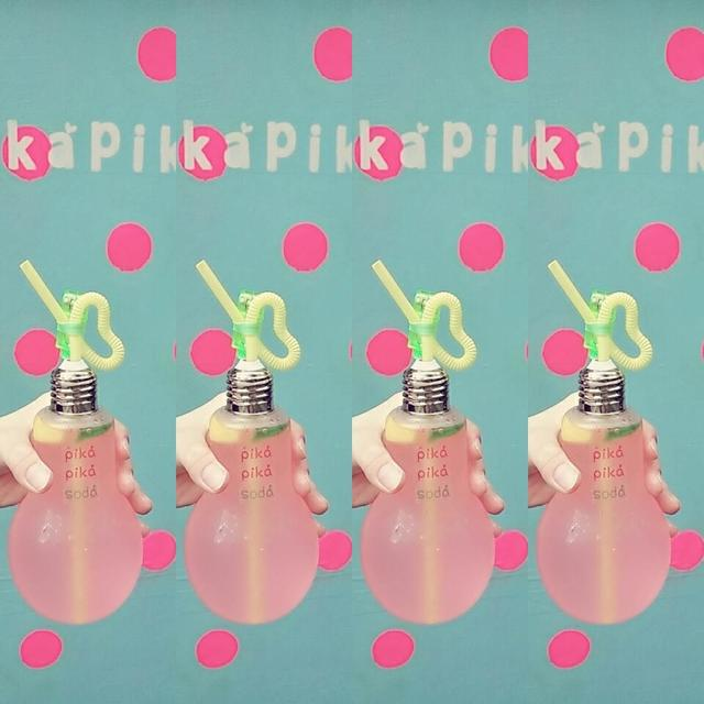 画像4: 行かねば!フォトジェニックな電球型ソーダ「Pika Pika Soda」が渋谷に登場!
