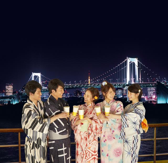 画像1: 東京湾をクルージングしながら、贅沢な夜景とダンスを楽しもう!