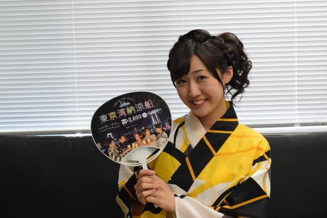 """画像: 横山阿衣伽さん """"夏祭りに参加するような気分でぜひ、お気軽にお越しください!ケバブやスイーツなどフードも充実してますよ!"""""""