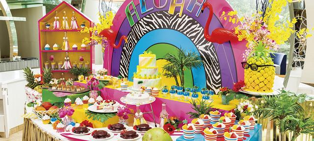 画像: ロビーラウンジ「ラウンジ・オー」今年の夏は派手かわ!?「ハワイアン・パラダイス」 | 千葉・舞浜のホテルなら【ヒルトン東京ベイ|東京ディズニーリゾートオフィシャルホテル】