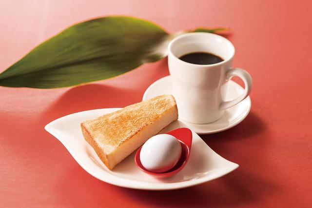 画像: ・サービスモーニング (ドリンクをご注文のお客様はトーストを無料でお付けしています。) 気軽に食べられる朝の定番「モーニング」も多数ご用意。