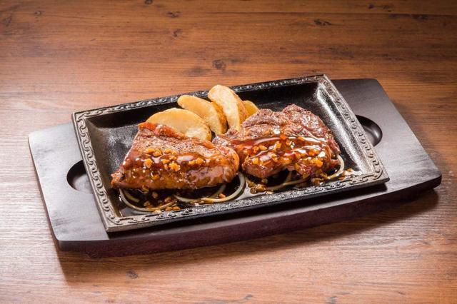 画像: 厚切りサーロイン&熟成赤身ログ 食べ比べ 1,799円