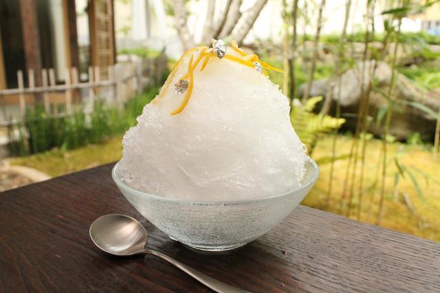 画像1: さわやかな香りと甘さが広がる、20歳以上限定の大人のかき氷