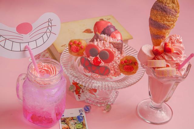 画像1: 絵本の国のアリス「チェシャ猫×ピンク」