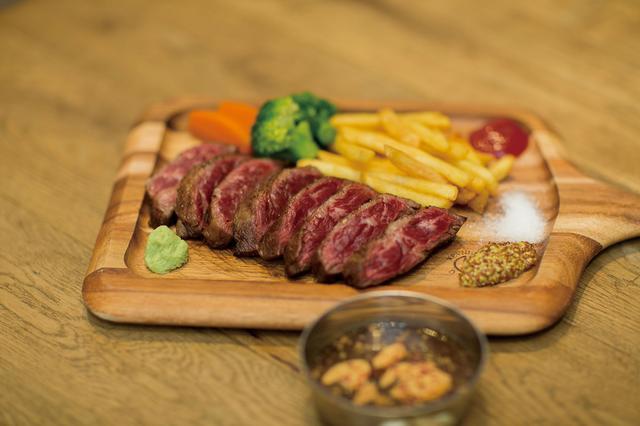 画像: 焼肉ビストロ 牛印 「牛印のハラミステーキ」 セット価格:2,980円