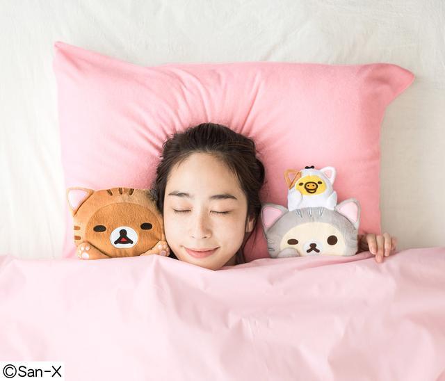 画像1: あのリラックマと添い寝する夢がかなう!