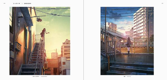 画像: ショウイチ(左)「たかいとこがすきで」(右)「夕線」