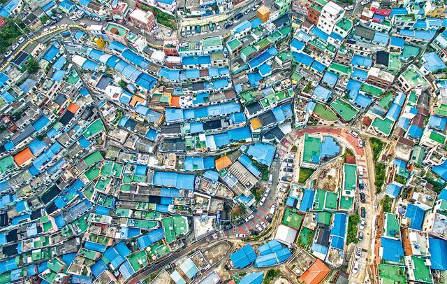 画像: 甘川洞文化村、釜山、大韓民国