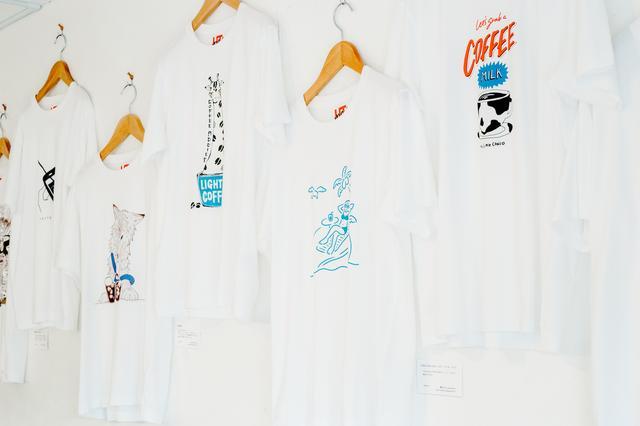 画像3: 吉祥寺LIGHT UP COFFEEにて「コーヒーにまつわるTシャツ展」を開催!