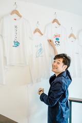 画像2: 吉祥寺LIGHT UP COFFEEにて「コーヒーにまつわるTシャツ展」を開催!