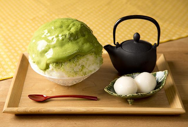 画像: 抹茶のかき氷(夏季限定)