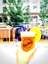 """画像1: 【試食レポ】暑い夏はこれで決まり!""""五感""""で味わう爽やかBEER!! BLUE MOONを京橋で☆"""