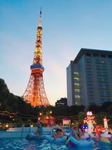 画像: 東京タワーが真上に!