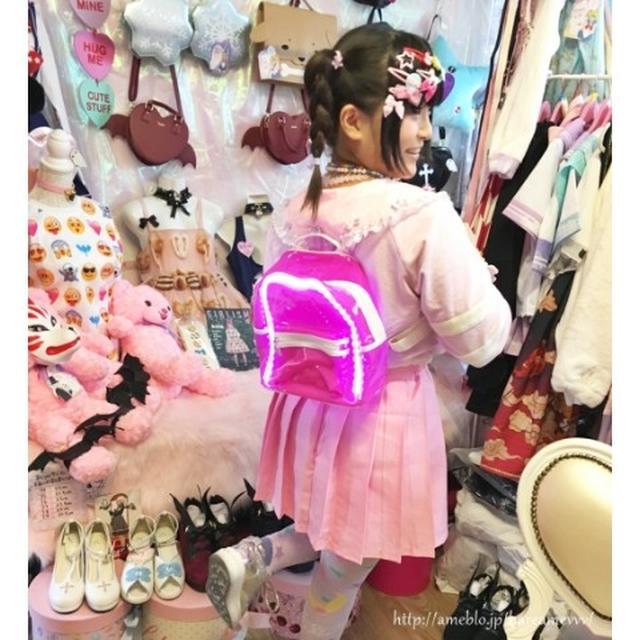 画像3: 韓国で大人気!ピカピカ光るかわいいリュック!