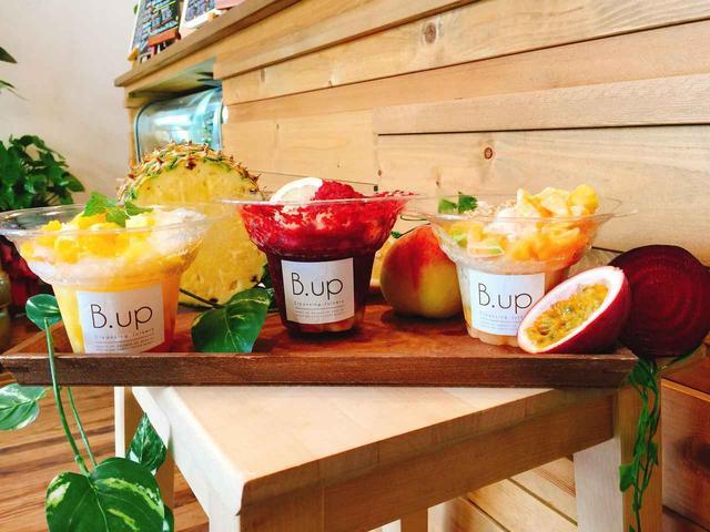 画像: コールドプレスジュース専門店「B.up Cleansing Juicery」が 一味違った「かき氷」を新発売!