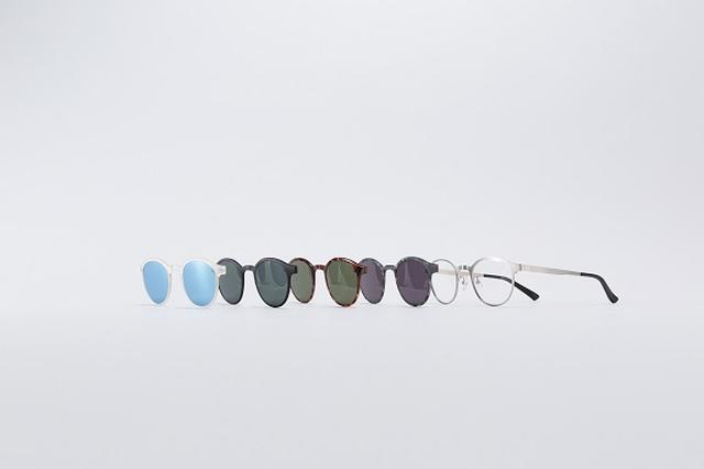 画像4: メガネが一瞬でサングラスになる?!