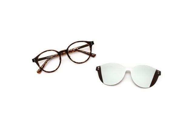 画像2: メガネが一瞬でサングラスになる?!